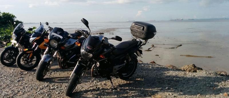 Sun Morning Ride to Pengerang