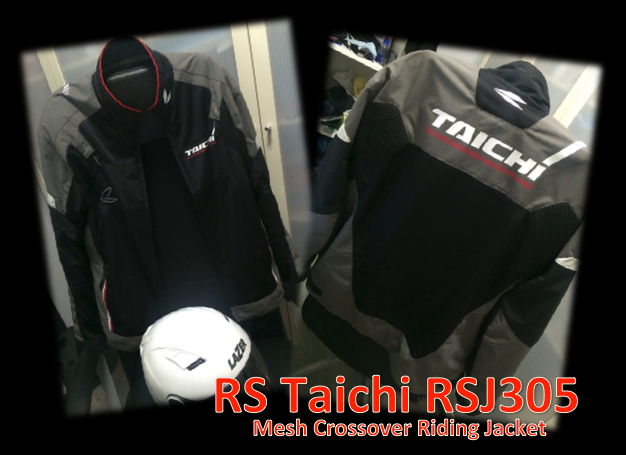 Review of the RS Taichi RJ305 Mesh Crossover Jacket