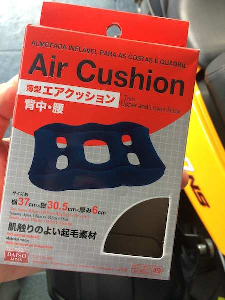 The $2 air cushion from Daiso.