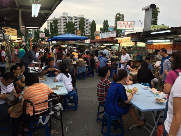 The famous Gurney Drive Hawker Centre