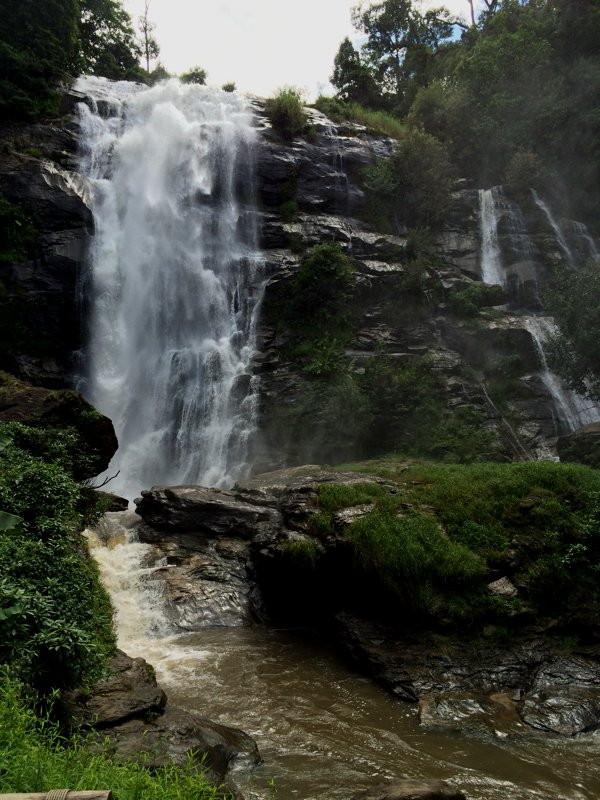 Another view of the Wachirathan Waterfall.