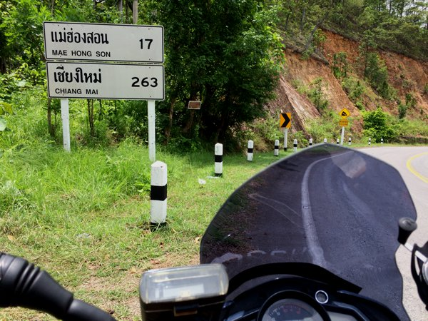 17km to Mae Hong Son!