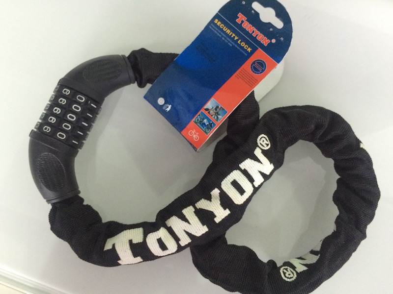 Tonyon Combination Chain Lock