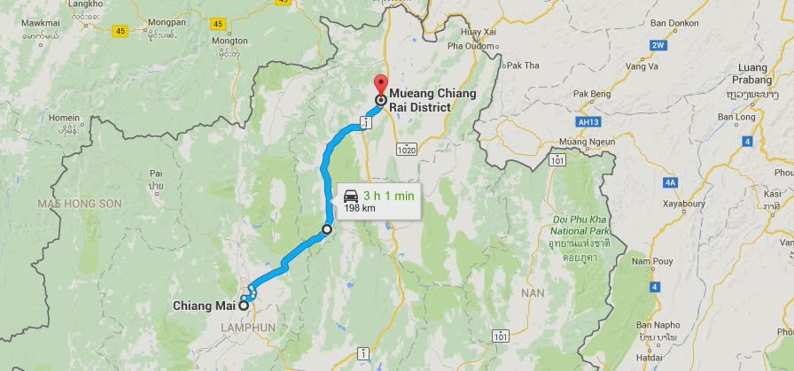 The sgBikerBoy 2016 Trip – Day 17. Chiang Rai.