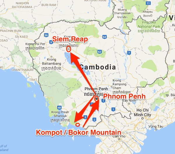 Bokor Mountain in Kampot is somewhat out of the way. That's why some travellers may choose to bypass it and head straight to the more famous cities of Phnom Penh and Siem Reap.