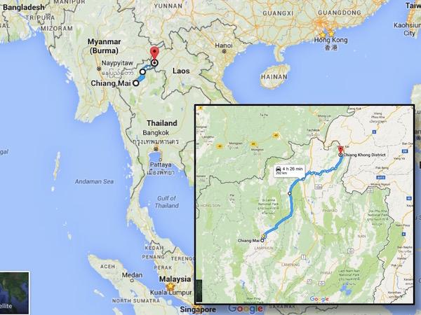 sgBikerBoy 2016 Trip, Day 20. Chiang Mai to Chiang Khong.