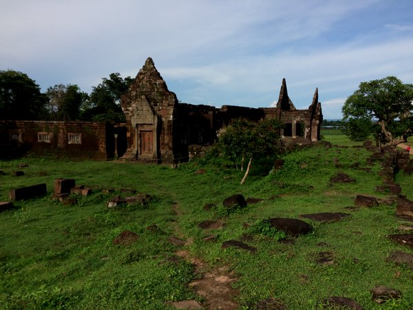 Vat Phou is a ruined Khmer Hindu temple dating back as early as the 5th century.