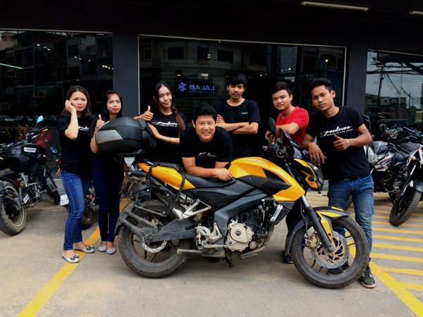We took a group shot with my Pulsar 200NS.