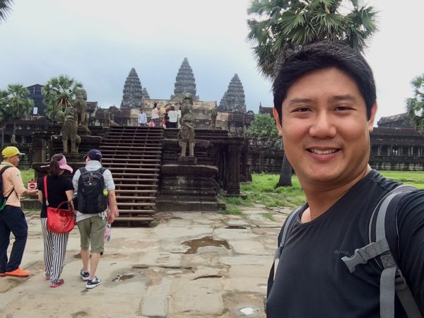 sgBikerBoy is in Angkor Wat!