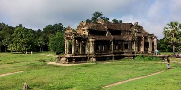 Temple within the Angkor Wat compound.