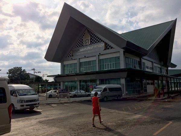 The new immigration complex in Sadao, Thailand.