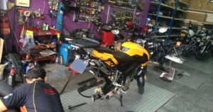 Have your motorcycle properly serviced by a competent mechanic before making the trip.
