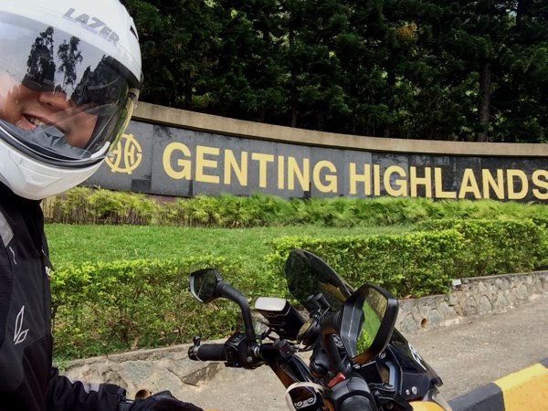 I headed to Genting Highlands instead!