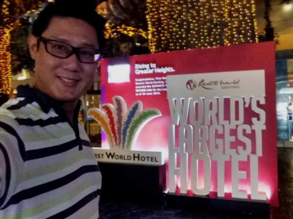 I didn't realise that First World Hotel is the World's Largest Hotel.