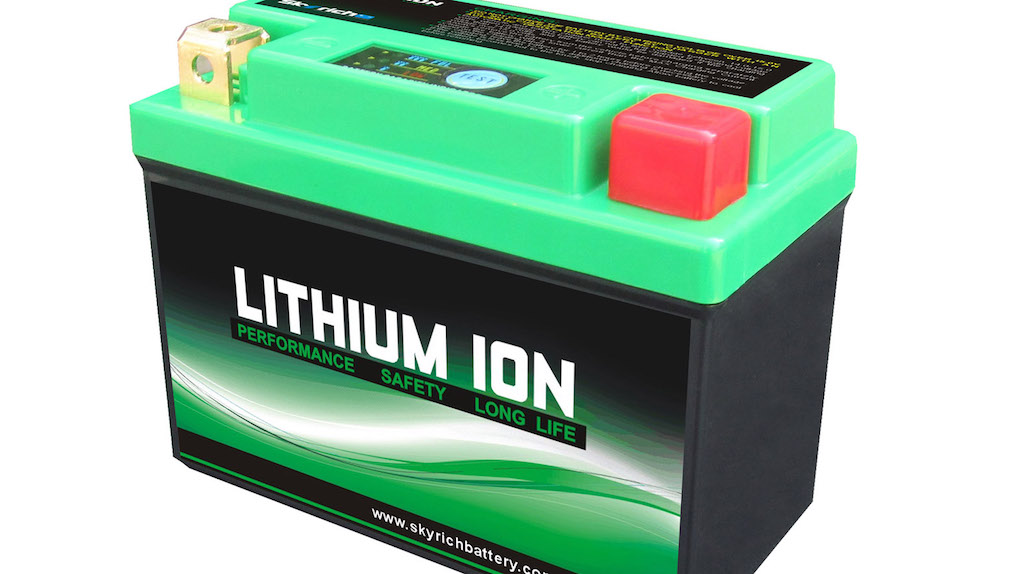 Lithium-Ion batteries in Motorcycles?