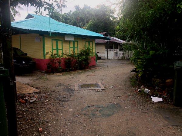 This is a Muslim prayer hut - Surau Kampong Lorong Buangkok.