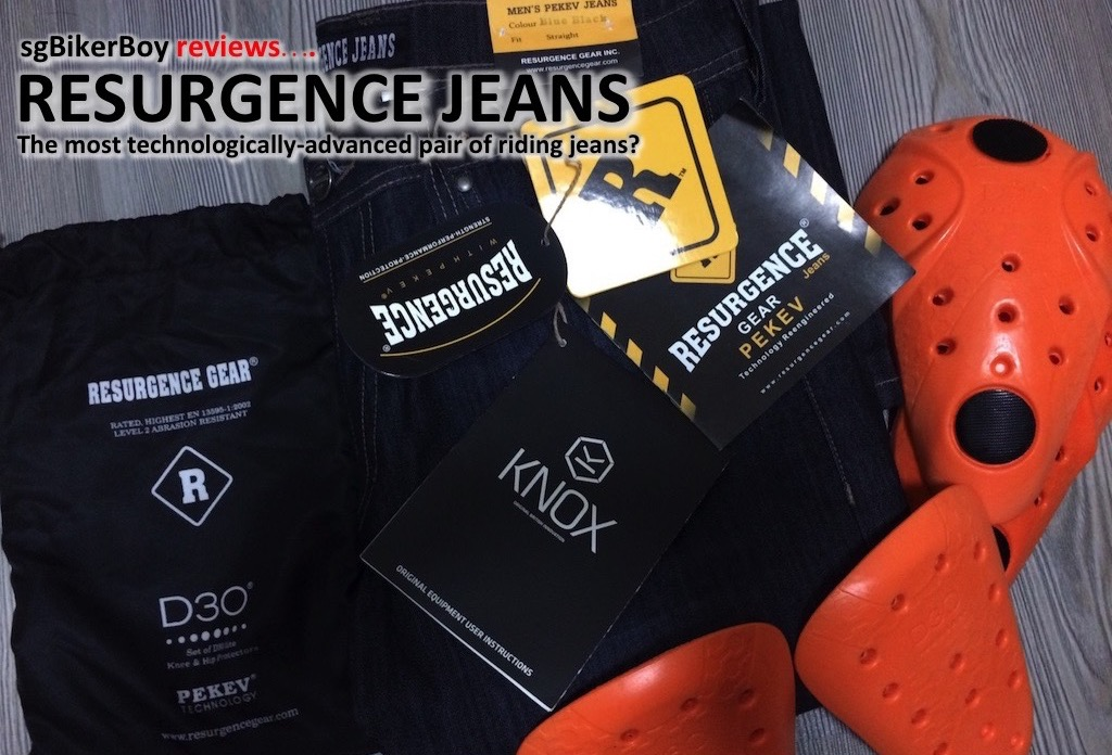 Resurgence Jeans – The most technologically advanced pair of riding jeans?