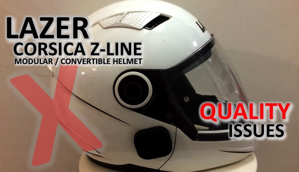 Lazer Corsica Z-Line Quality Issues