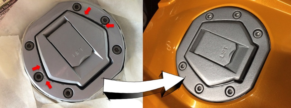 Weekend Project – restoring the fuel lid