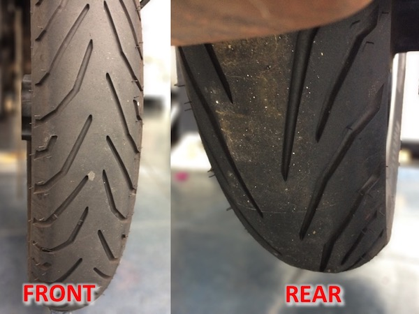 Motorcycle Tire Installation Near Me >> Why Do Motorcycle Front And Rear Tires Have Opposite Tread Patterns