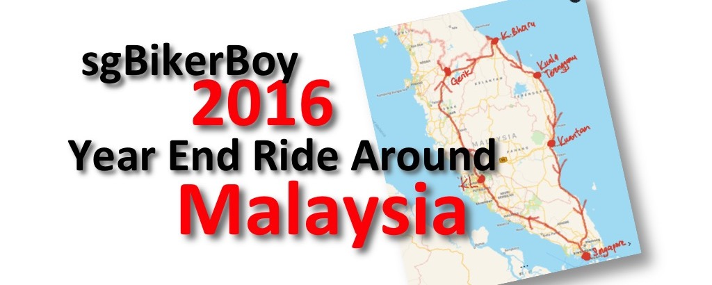 sgBikerBoy travels around Malaysia