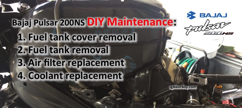 Bajaj Pulsar 200NS DIY Maintenance Guide