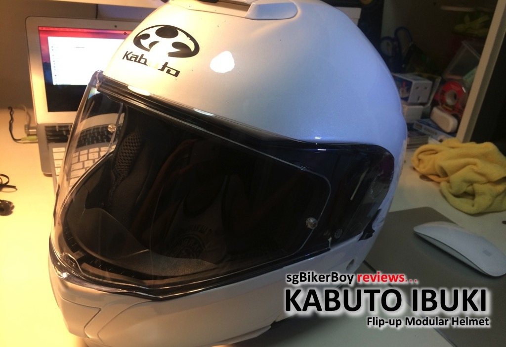 Kabuto Ibuki Flip-up Modular Helmet Review