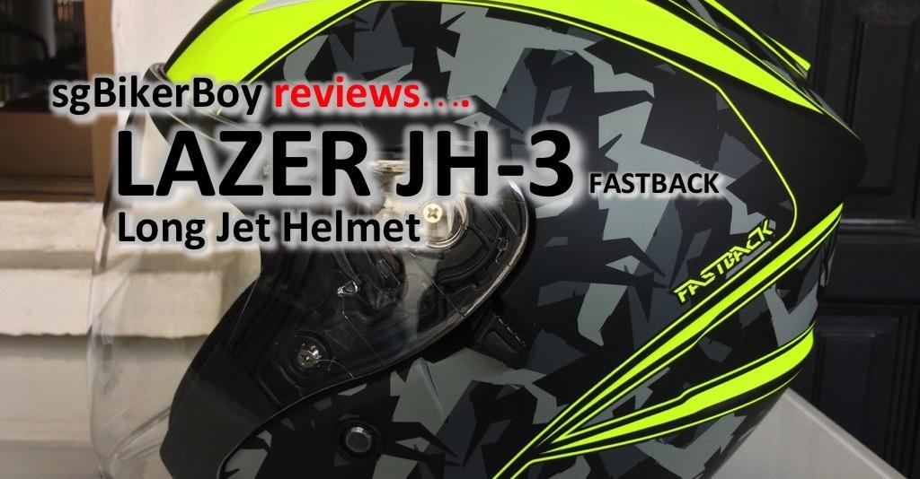Lazer JH-3 Long Jet Helmet Review