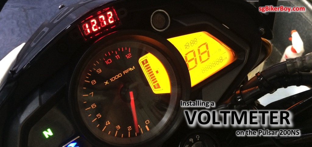Adding a Voltmeter to the 200NS