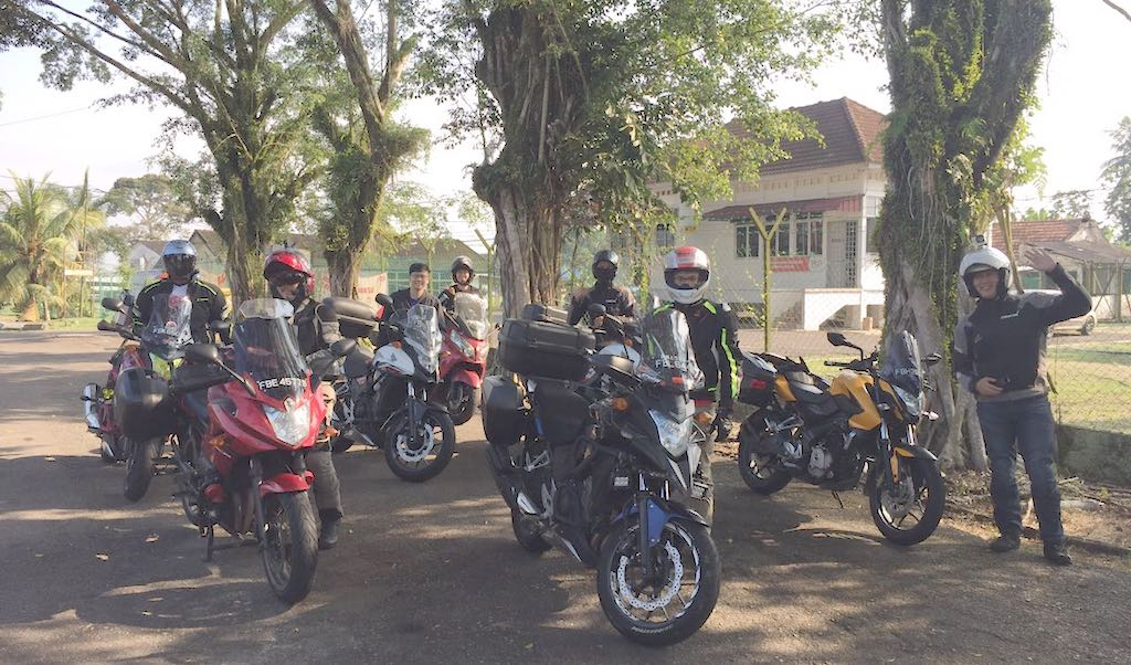 Sunday morning ride to Layang-layang