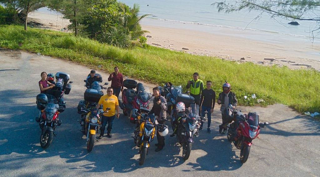 Sunday Morning Ride to Tanjung Sedili