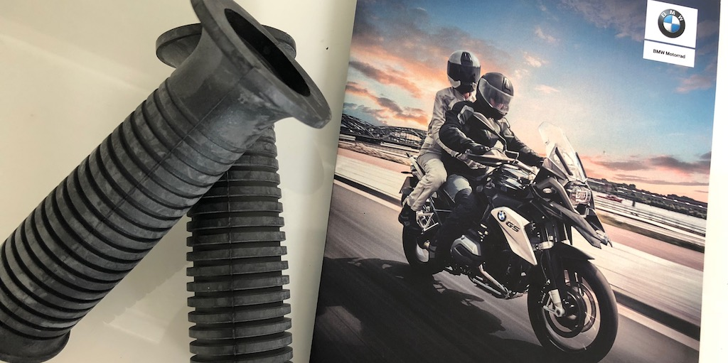 BMW Grip Replacement on my CB400X