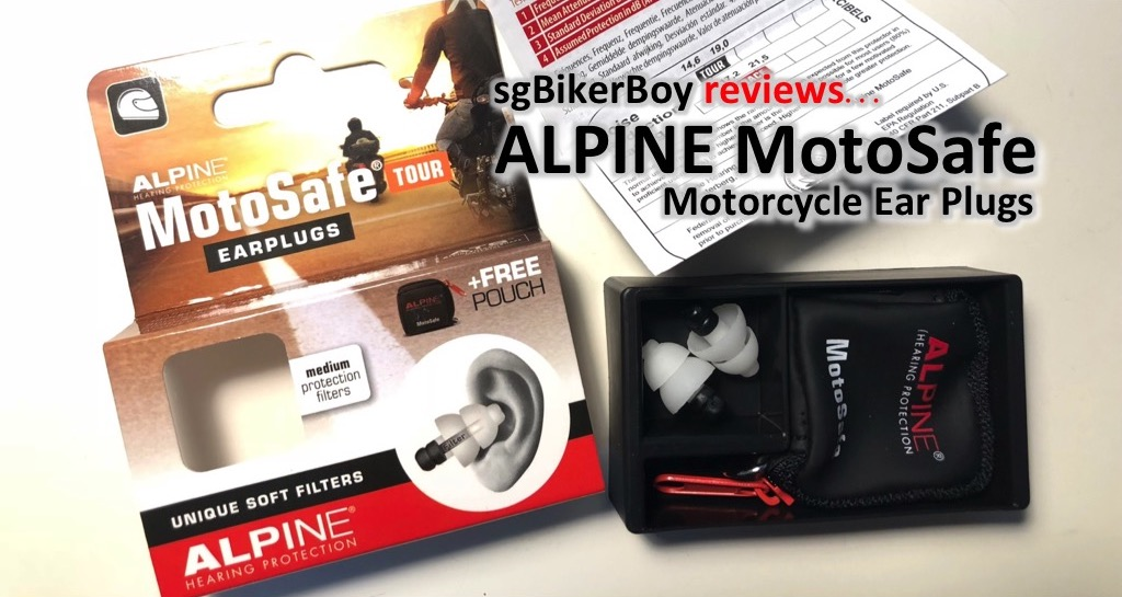 Alpine MotoSafe Tour Earplugs Review