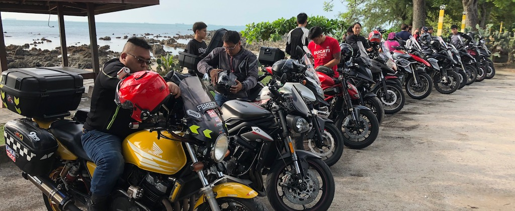 Sunday Morning Ride back to Batu Layer Beach