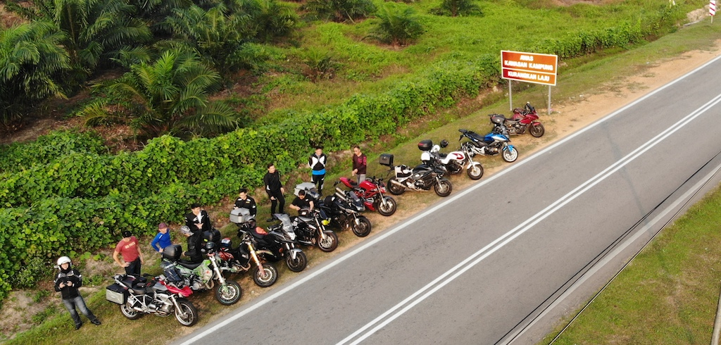 Sunday Morning Ride to Kulai