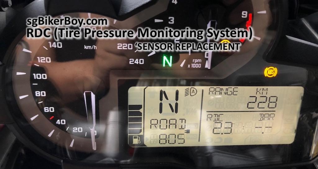 R1200gs Lc Rdc Sensor Replacement Ramblings Of A Singapore Biker Boy