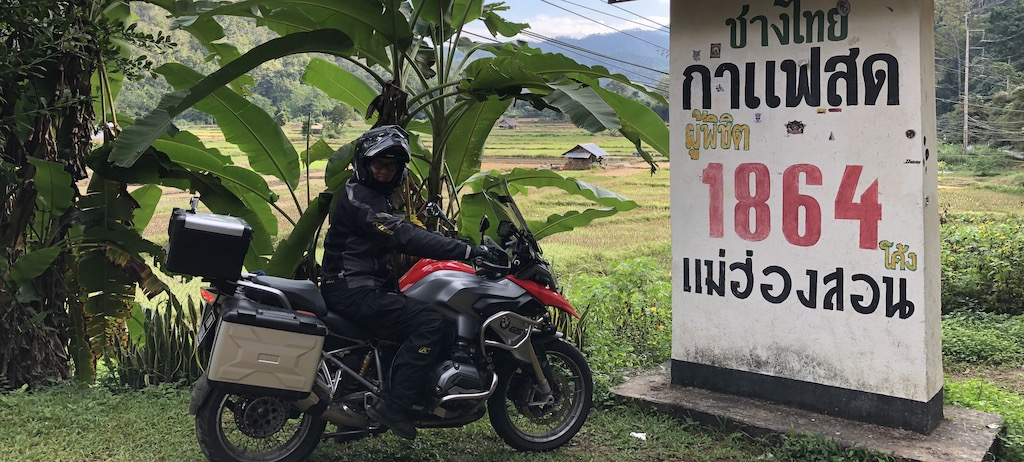 Riding up to Mae Hong Son – Day 1 to 4