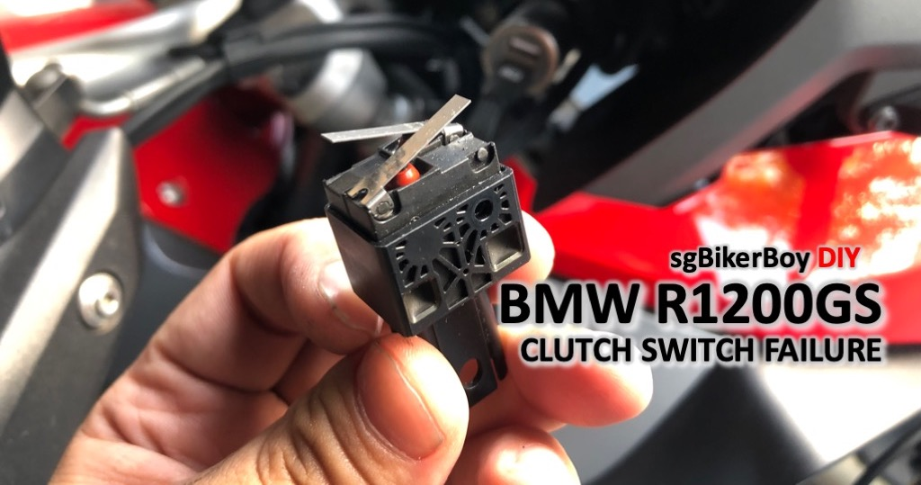 BMW R1200GS LC Clutch Switch Failure