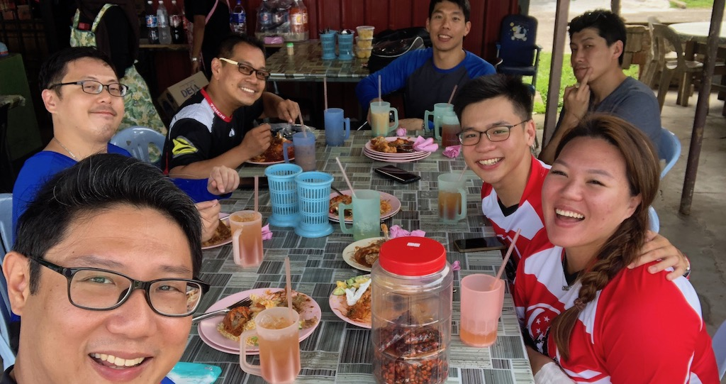 Sunday Morning Ride to Baryani Yong Peng