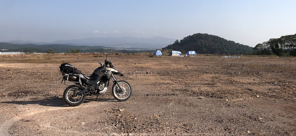 Sunday Morning Ride Dirt Ride – 3 GS'es and 4 Scramblers