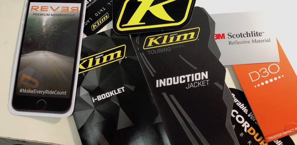 Received my accident replacement Klim gears