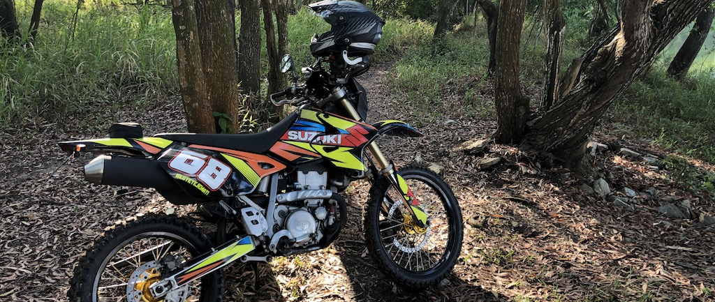 DRZ400 – A very capable off-road machine