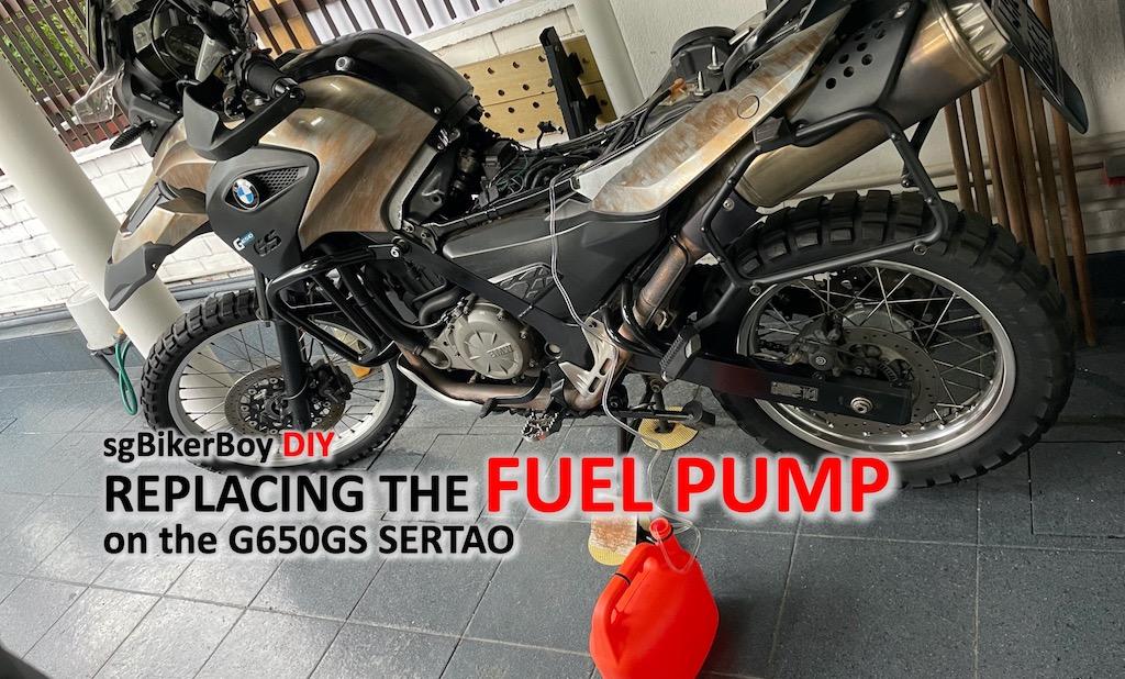 G650GS Sertao Fuel Pump Failed
